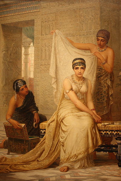 Esther in Harem Painting by edwin Long 1878