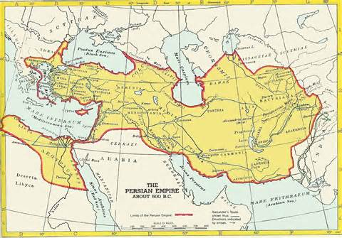 Persian Empire, circa 500 B.C.