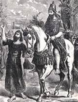 Carpe the irony:  Haman leads Mordecai through the strees of Susa.