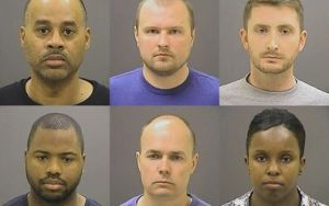 Baltimore Cops Charged
