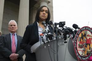 Marilyn Mosby, Baltimore DA