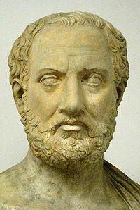 Greek historian Thucydides