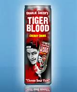 Tiger Blood - The elixir of no limits.
