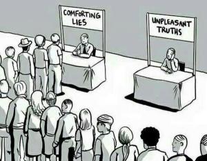 Comfortble truths