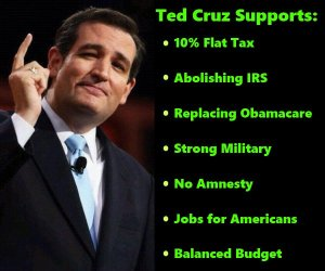 Ted cruz supports