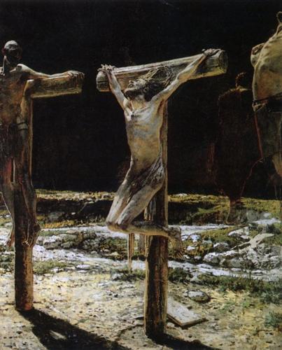 Crucifixion - Nicolai Ge